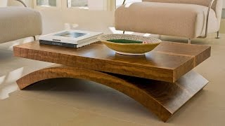 60 + Modern Table Design Ideas 2017 - Glass Wood Coffe Steel