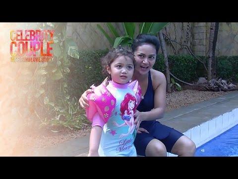 Celebrity Couple: Raul-KD, Berenang Bareng Amora (Part 1)