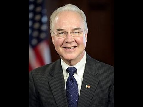 Tom Price HHS Confirmation Hearing Jan 18 2017
