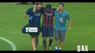 FC Barcelona Vs Malaysia XI - Goals & Highlights 10/08/2013 HD