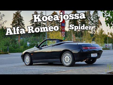 Alfa Romeo Spider >> Koeajossa Alfa Romeo Spider 2 0 16v Twinspark 1996