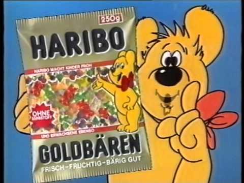 Haribo Goldbären Werbung 1990
