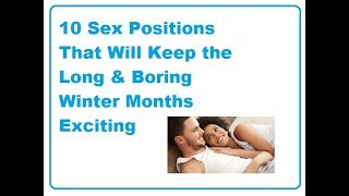10 Awesome sex positions to try in this winter!!!!!!!