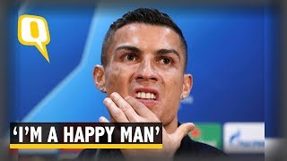Ronaldo Speaks Publicly for the First Time Since Rape Accusation   The Quint