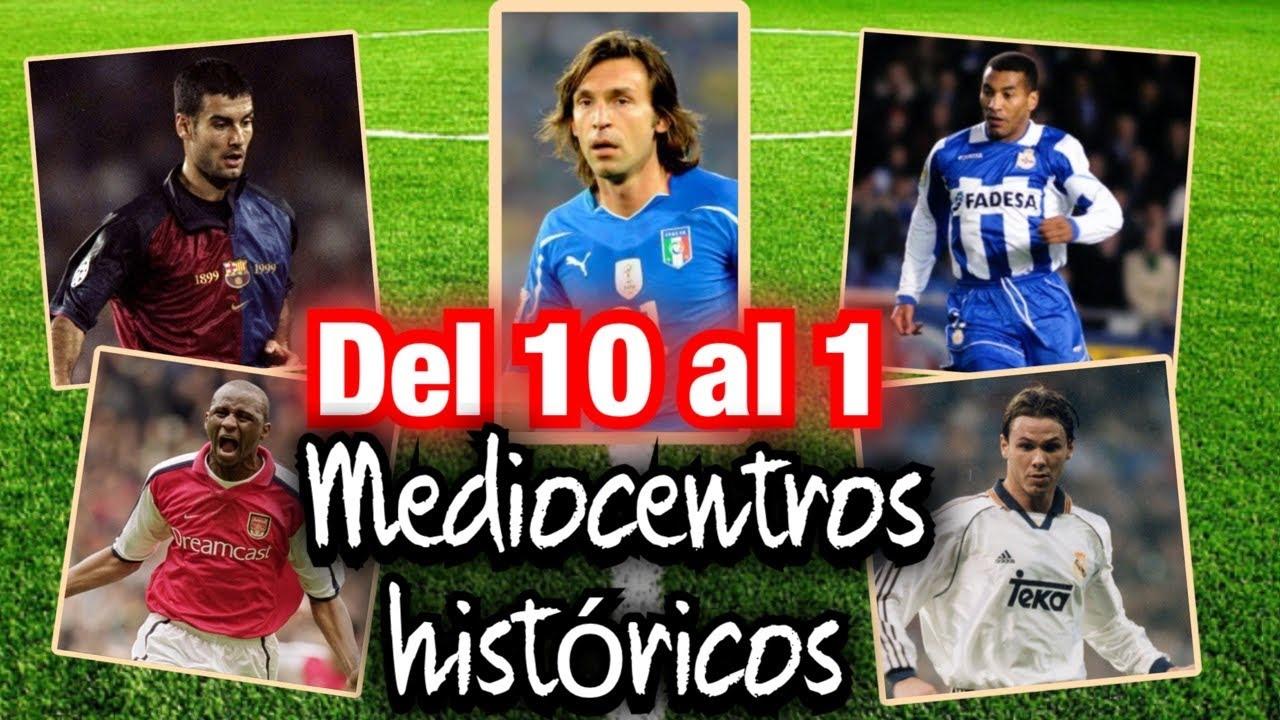 REDONDO, GUARDIOLA, PIRLO, MAURO SILVA...MEDIOCENTROS HISTÓRICOS DEL 10 AL 1. #MundoMaldini