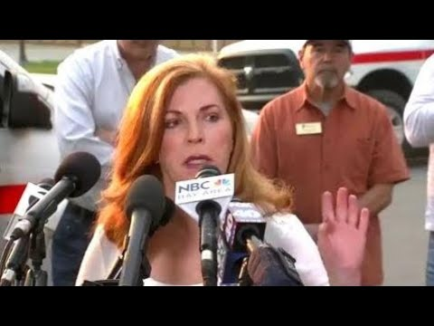 Breaking News:  Wildfires in California. Officials press conference. Oct 9, 2017. Wildfire in Anahe