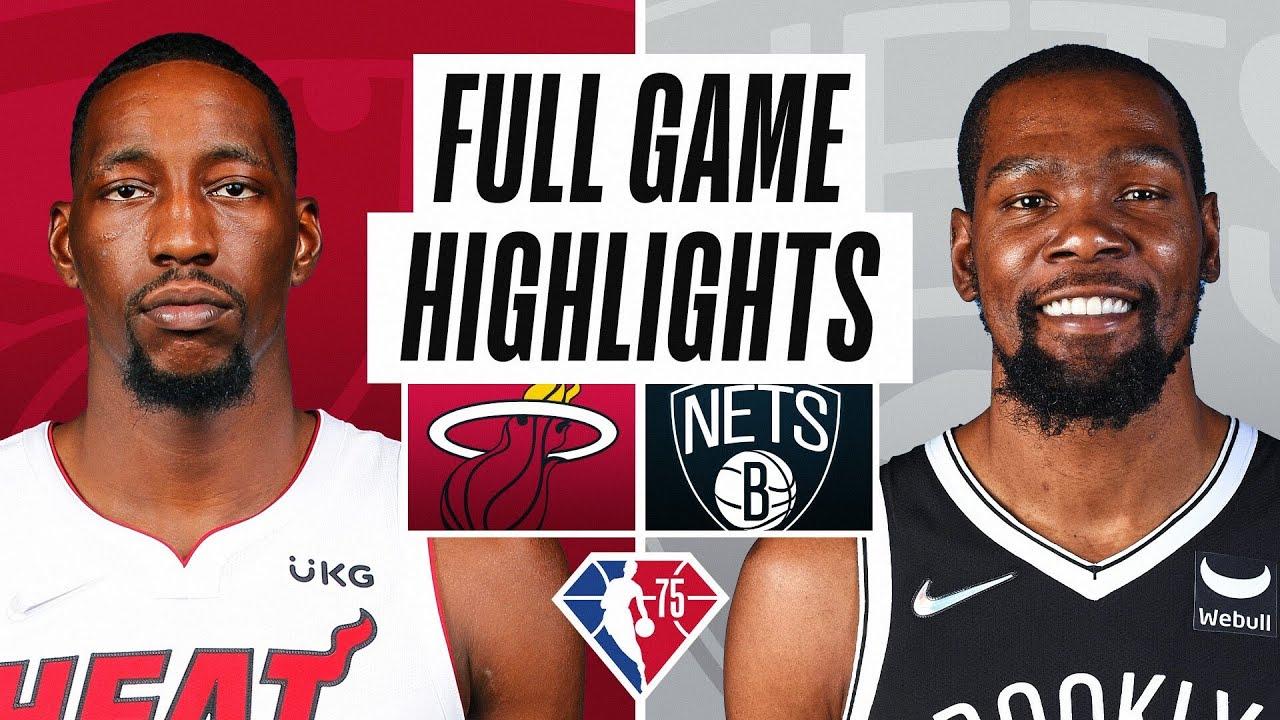 Heat vs. Nets - Game Recap - October 27, 2021 - ESPN