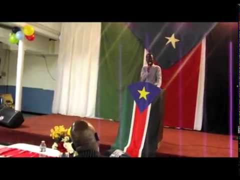 SPLM/A 32ND ANNIVERSARY CELEBRATION OF 16 MAY, 1983 BY RED ARMY OF SUDAN IN MANITOBA, CANADA