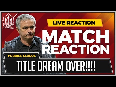 """Title Gone!"" Goldbridge | Manchester United 1-2 Manchester City"