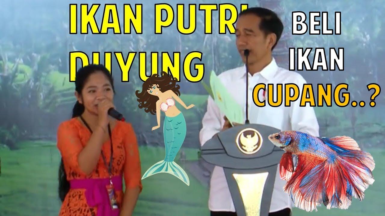 Ikan Cupang, Kuis Nama-nama Ikan Jokowi, Kumpulan Video ...