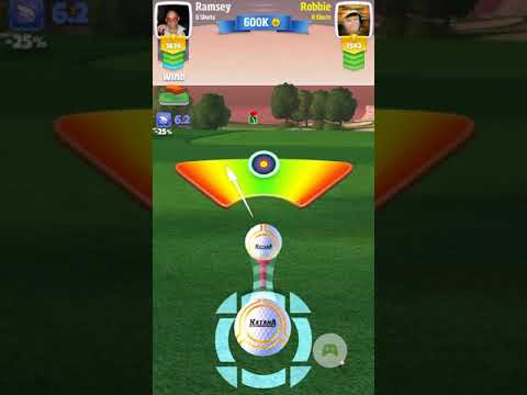 How in the hell did I manage to do this?? Golf Clash - 2018-04-21
