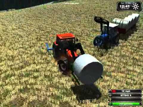 Farming Simulator Round Bales In Norway YouTube - Norway map farming simulator 2013