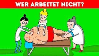 DIE 10 BESTEN RÄTSEL FÜR EIN LUSTIGES GEHIRNTRAINING