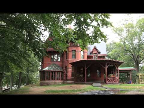 The Mark Twain House U0026 Museum, Hartford, Connecticut, USA   Unravel Travel  TV