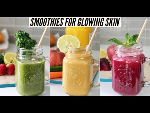 3 Smoothies For Glowing Skin