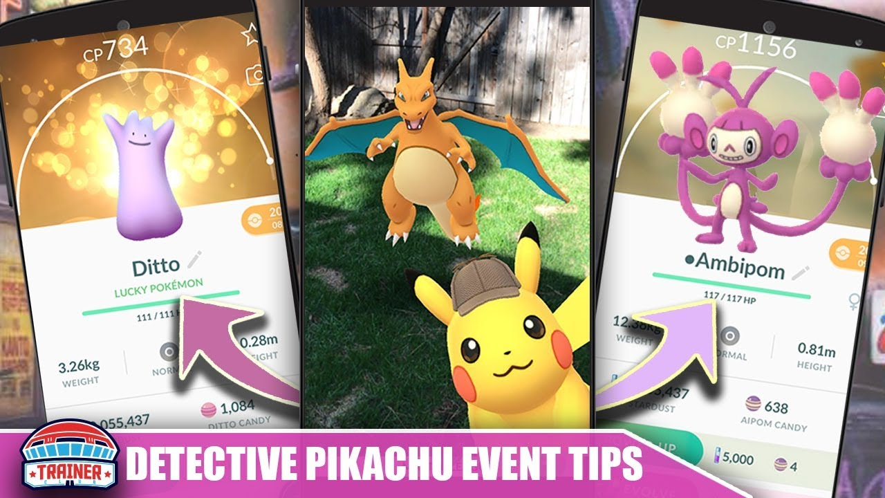 Top 5 Tips To Maximize Detective Pikachu Event Shiny Aipom Ditto