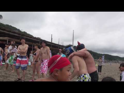 信州プロレス 2016-07-18 海水浴場マッチ 午前の部