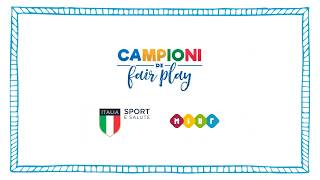 Campioni Di Fair Play 2019 2020 Youtube