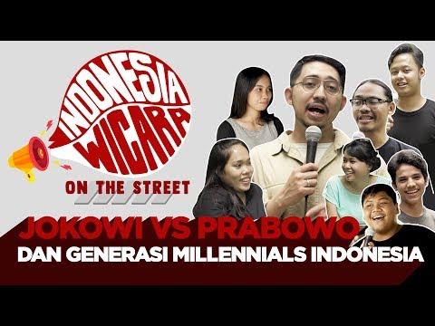 Indonesia Wicara OTS - Jokowi vs Prabowo dan Generasi Millennials Indonesia