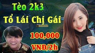 Tèo 2k3 Tổ Lái Chị Gái 100,000 VNĐ/2h - ThrowThi