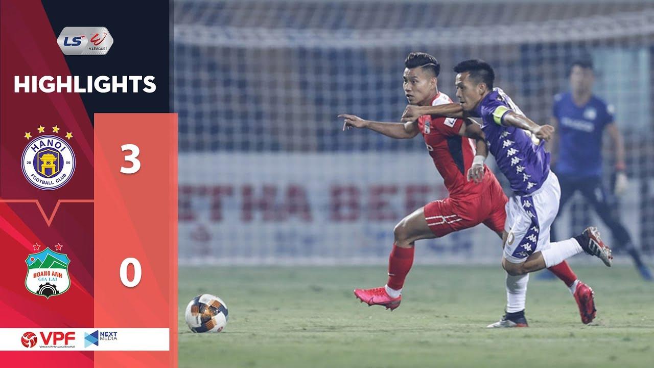 Xem lại highlights Hà Nội vs HAGL, V-league – 6/6/2020