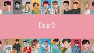 Video EXO - Cloud 9 (EASY Lyrics) download MP3, 3GP, MP4, WEBM, AVI, FLV Juli 2018