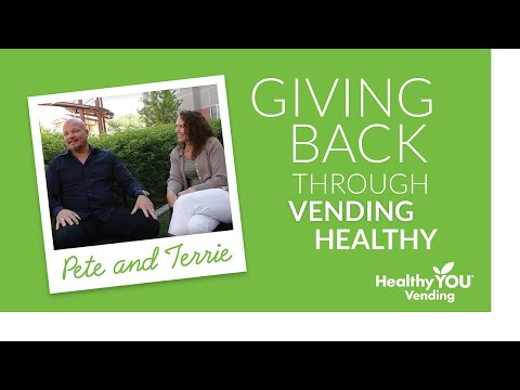 Healthy YOU Vending Review - Giving Back