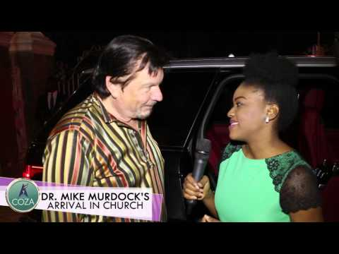 Dr. Mike Murdock's Arrival