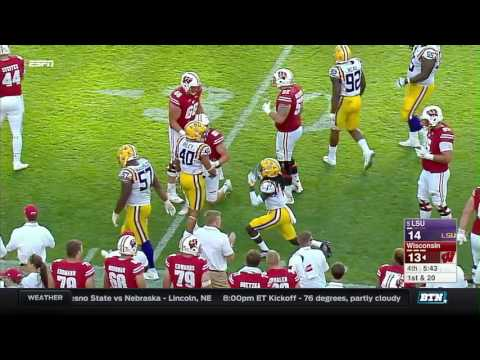 LSU vs Wisconsin - Football Highlights