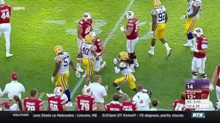 LSU vs Wisconsin - Football Highlights
