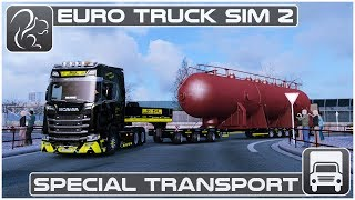 One of Squirrel's most viewed videos: Special Transport DLC  (Euro Truck Simulator 2) - First Look