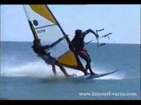 Kite&Windsurf 2 in 1 or how to ride free of charge.
