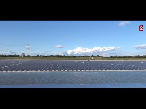 La plus grande centrale solaire flottante au monde