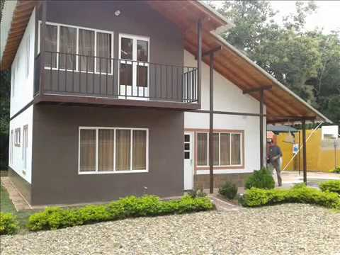 Casas prefabricadas colombia chalette 120 m2 57 - Precio m2 construccion chalet ...