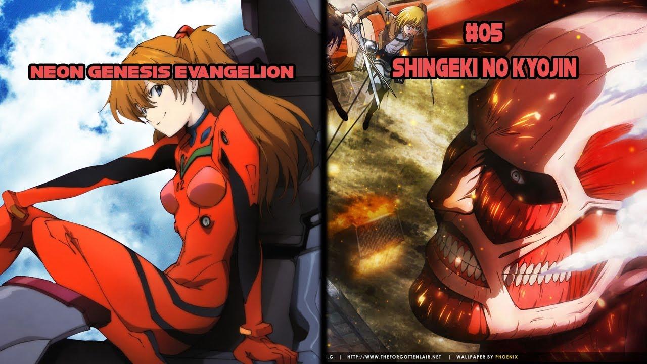 Top 5 Animes Similar to Neon Genesis Evangelion - YouTube