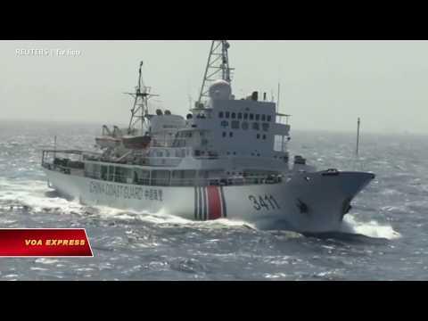 Vụ Bãi Tư Chính: Tàu Trung Quốc 'cố ý' để lộ diện (VOA)