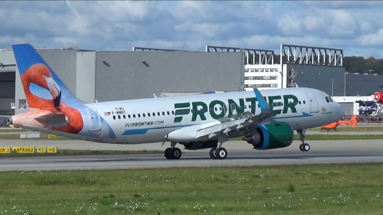 Frontier Airlines New Livery