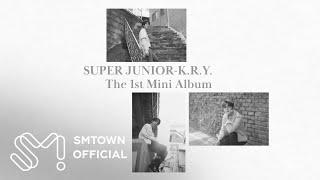 """SUPER JUNIOR-K.R.Y. The 1st Mini Album """"푸르게 빛나던 우리의 계절 (When…"""