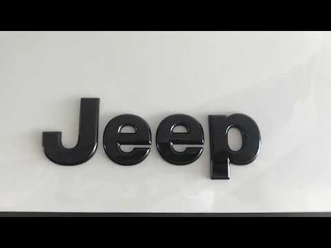 Substituicao Dos Emblemas Jeep Renegade Pcd Youtube