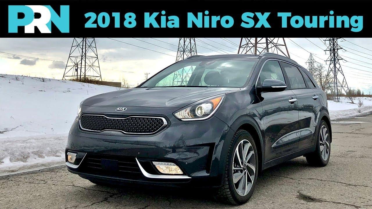 Can A Hybrid Be Cute 2018 Kia Niro Sx Touring Testdrive Spotlight
