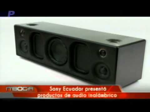 Sony Ecuador presentó productos de audio inalámbrico