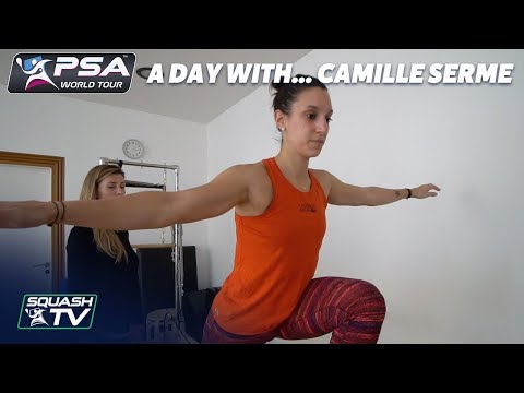 Squash: A Day With... Camille Serme