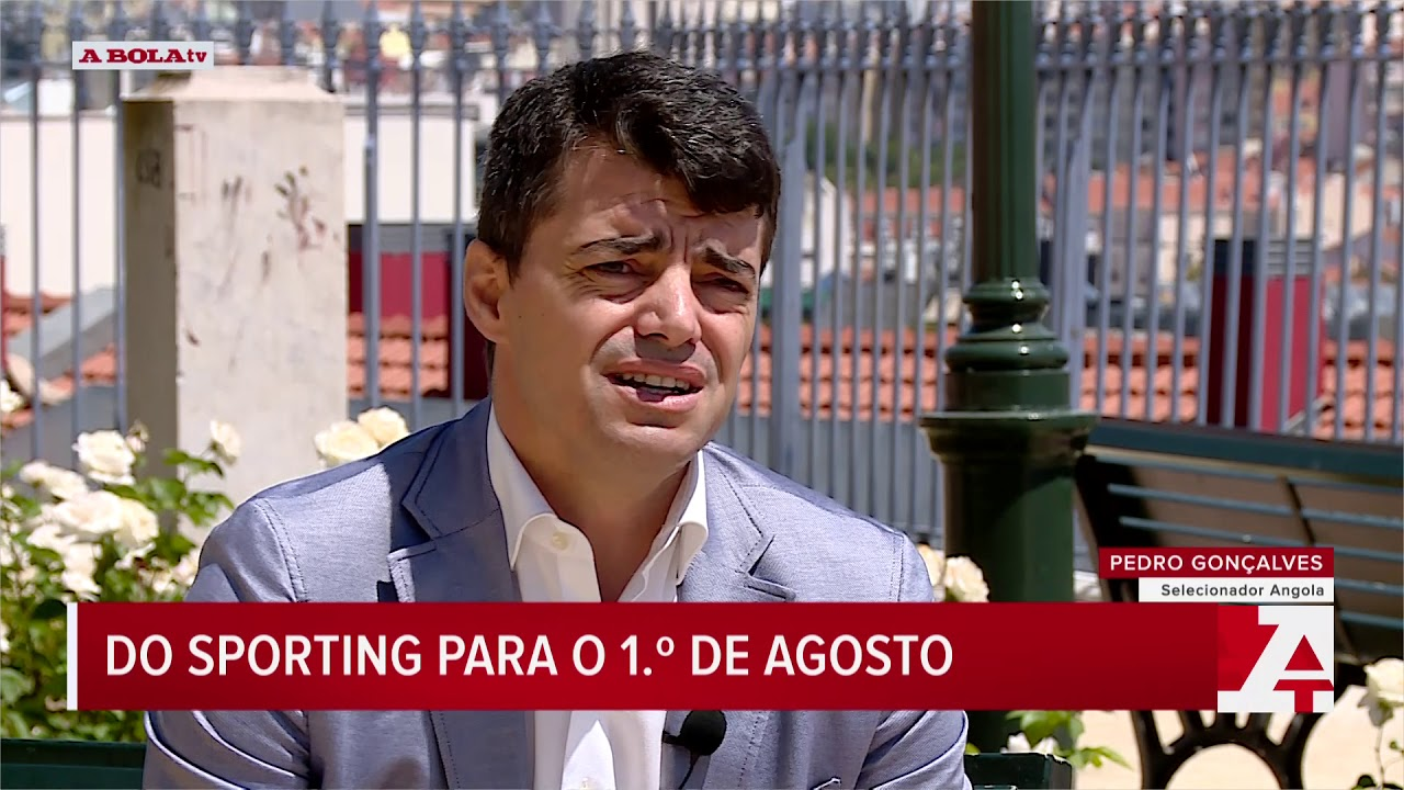 Pedro Gonçalves quer Angola no Mundial