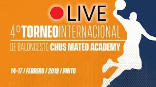 Gambar cover U16 Masculino: Semifinal 1. IV Torneo Chus Mateo Academy