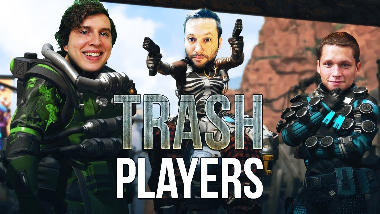 Trash YouTubers Play Apex Legends For Views Even Though We Didn't Support  Titanfall 2