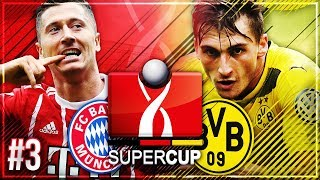 SUPERCUP FINALE 🏆 Neuzugang VERLETZT & neuer STÜRMER!! 🔥🔥 - FIFA 18 FC Bayern Karriere #3