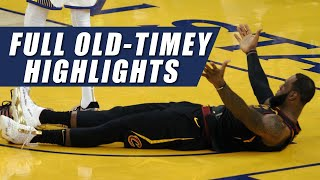 Warriors vs Cavaliers Full OLD-TIMEY Highlights | Game 1 | 2018 Finals