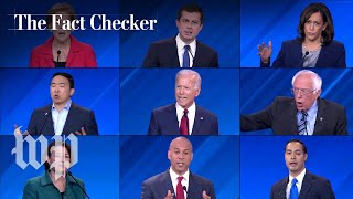 Fact-checking the third Democratic presidential debate