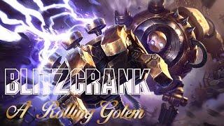 MERCER : Champ Select - Blitzcrank , A Rolling Golem #5
