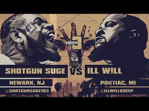 SHOTGUN SUGE VS ILL WILL SMACK/ URL RAP BATTLE